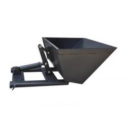 Szufla hydrauliczna na widły wózka, pojemność łyżki 0,60m3