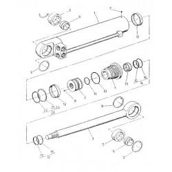 Zestaw naprawczy cylindra skrętu