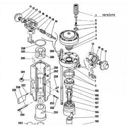Sprężyna amortyzator typ BRH501