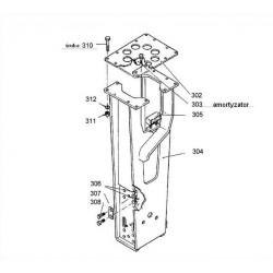 Amortyzator boczny polimerowy obudowy typ BRH501