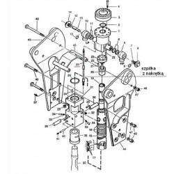Szpilka spinająca z nakrętką typ BRH125