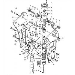 Zabezpieczenie rygla grota kpl. wz. BRH125/250/501