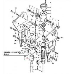 Zabezpieczenie tulei dolnej typ BRH125