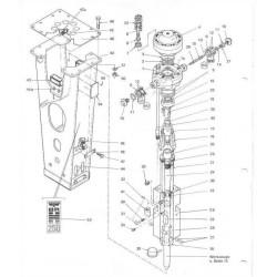 Amortyzator górny polimerowy obudowy typ BRH250