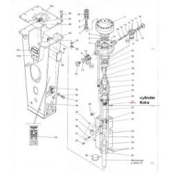 Cylinder tłoka typ BRH250