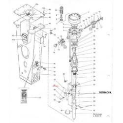 Nakrętka szpilki spinającej typ BRH250/BRH501