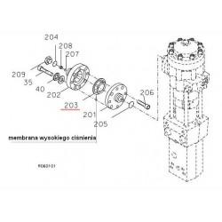 Membrana wysokiego ciśnienia CAT H63