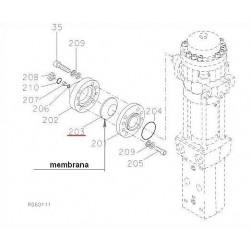 Membrana wysokiego ciśnienia RAMMER S25