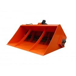 Posypywarka PSS 200  z napędem hydraulicznym