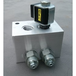 blok zaworu hydraulicznego z cewka Sun Hydraulics 8103