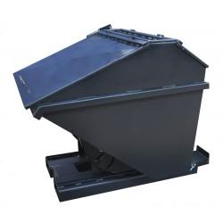 Pojemnik przechylny zamykany 0,8m3  do wózka widłowego
