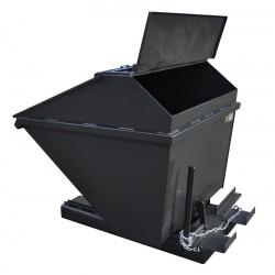 Pojemnik przechylny zamykany 1,6m3 do wózka widłowego